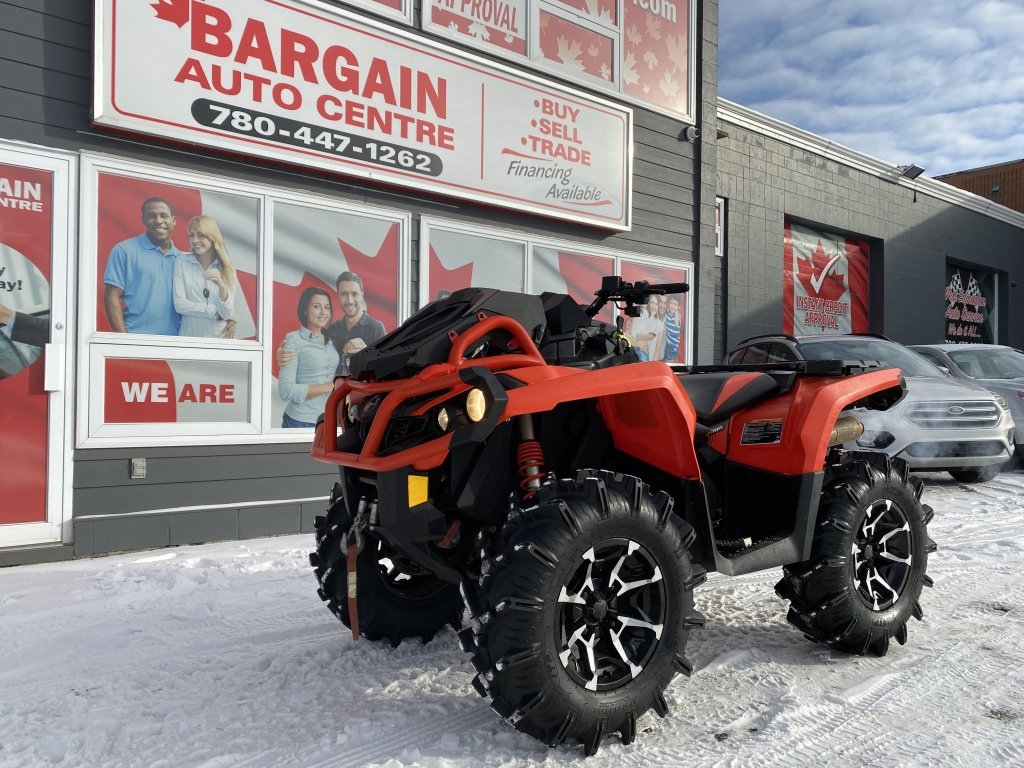 2018 CAN AM OUTLANDER 850 XMR (9682) Main Image